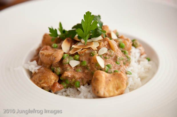 Chicken with Curried Tomato Almond Sauce | Chicken Breast | Pinterest