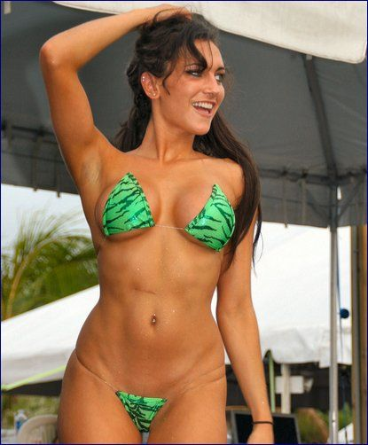 Perfect! Bikini contest customer photo woman has
