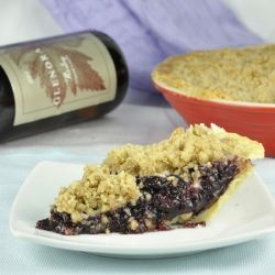 Concord Grape Pie. Deliciously inspired from our local grape festival ...