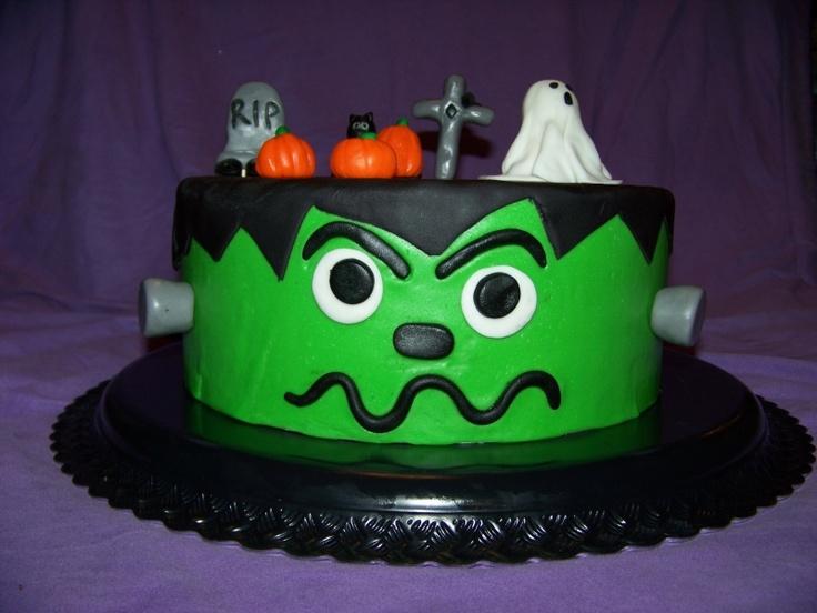 frankenstein birthday cakes