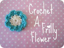 Ruffled crochet flower - free pattern   Flickr - Photo