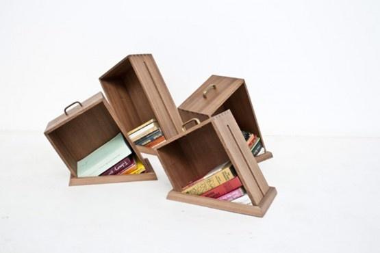 Unique shelving units design yael mer home ideas pinterest for Unique shelving units