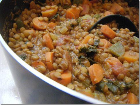 Sweet Potato Lentil Chili