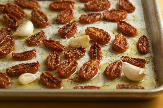 Slow roasted tomatoes | Sides & Apps | Pinterest