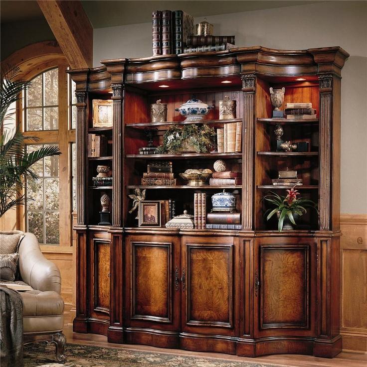 Seven Seas Bookcase by Hooker Furniture fice