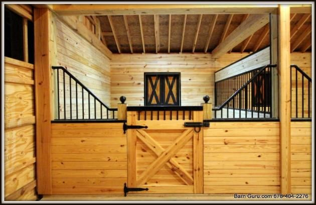 Barn plans 10 stall horse barn design floor plan new for Horse stall floor plans