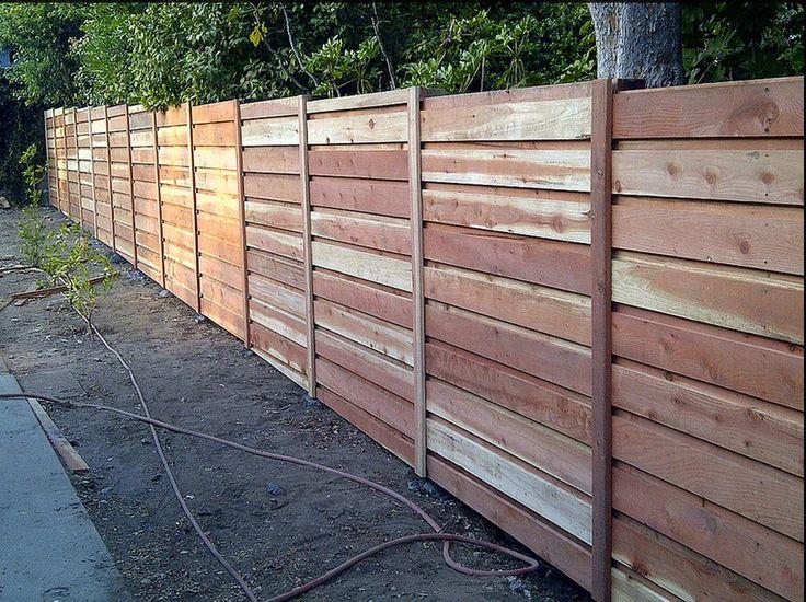 Board On Horizontal Fence