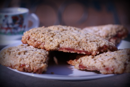 strawberry barley scones | What YOU eat is What you are! | Pinterest