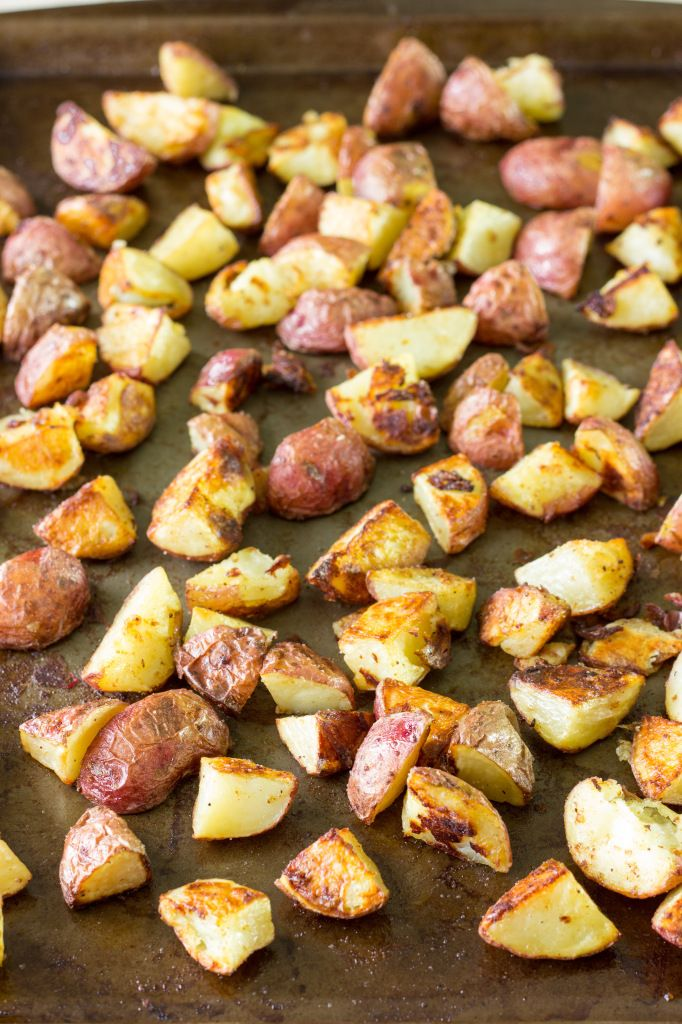 Salt and Vinegar Roasted Potatoes | Recipe