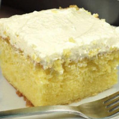 Lemon Cooler Cake Recipe