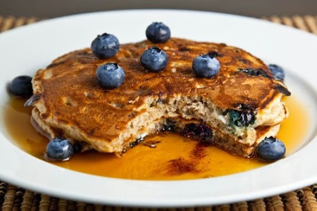 Blueberry Cottage Cheese Pancakes | Must try RECIPES | Pinterest