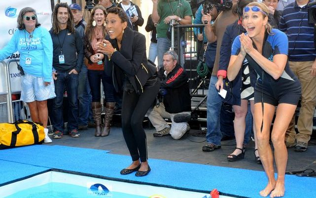 Good Morning America Usa Swimming : Pin by pixable on celebrities pinterest