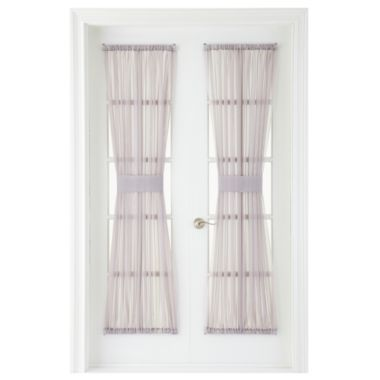 Marthawindow voile rod pocket door panel found at jcpenney