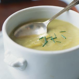Chilled Potato and Leek Soup #GlutenFree | Culinary Wish List | Pinte ...