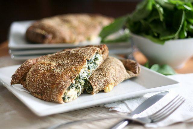 Oh Versatile Calzones – Cheezy Spinach Version