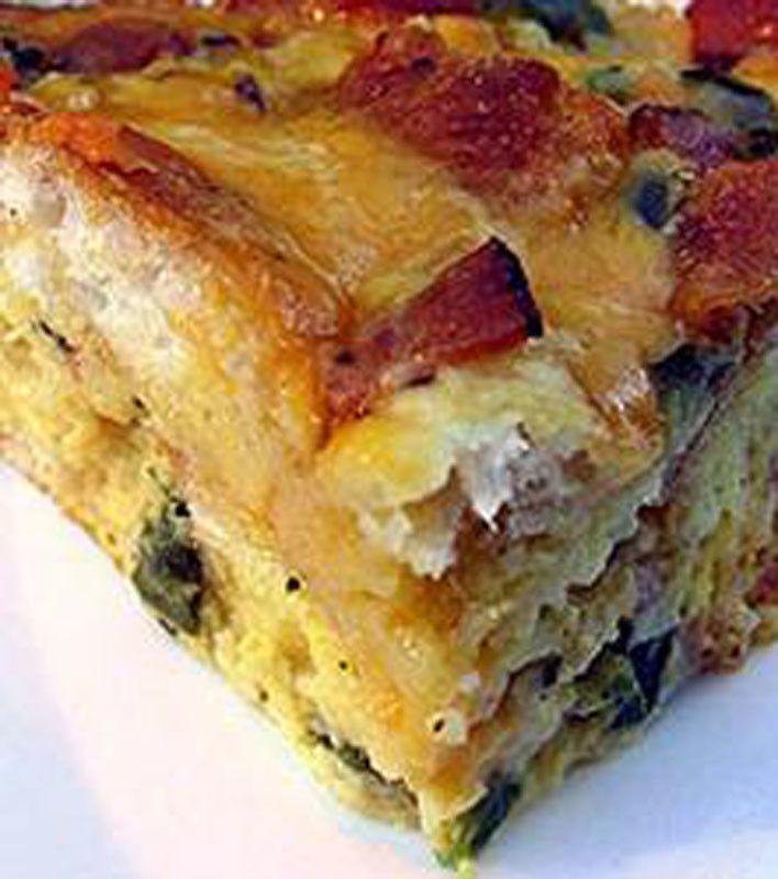 Cobb-Breakfast-Casserole | Food Recipes II | Pinterest