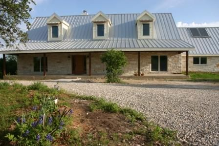 Texas Hill Country Home Exteriors Pinterest