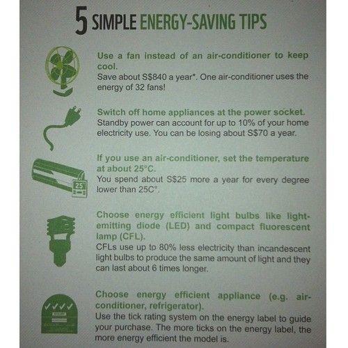 Simple Energy Saving T...