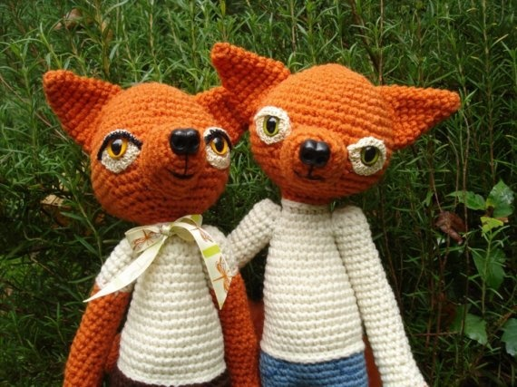More like this: crochet animals , crochet fox and baby toys .