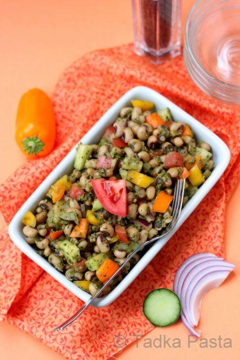 Black-eyed Peas and Pesto Salad | Recipes | Pinterest
