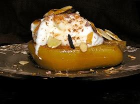 My good friend's incredible recipe for Marsala Wine Pears. OMG!!!
