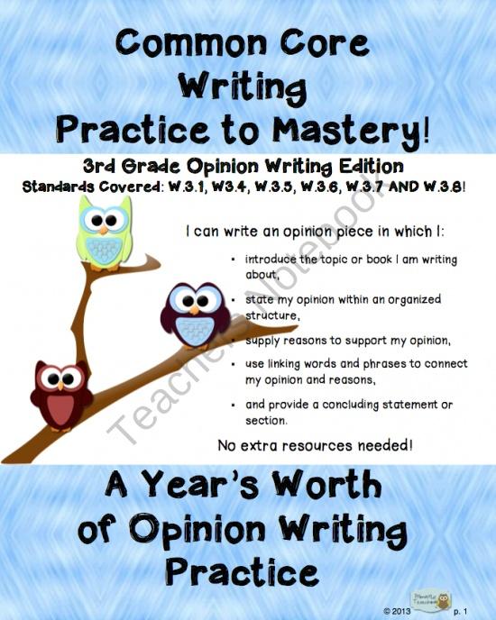 teaching essay writing 5th grade