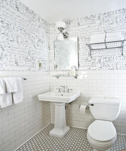 Salle de bain des ann es 30 bathroom ideas pinterest for Salle de bain annee 30