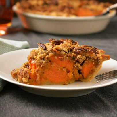 Chunky Bourbon Sweet Potato Pie | Sweets-Recipes To Try | Pinterest