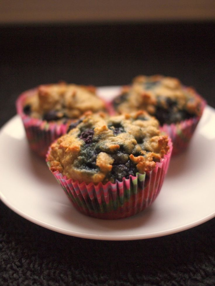 Heavenly Coconut Blueberry Muffins (Paleo/Primal)