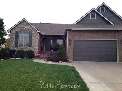 putter home house colors for red brick sw 7047 porpoise. Black Bedroom Furniture Sets. Home Design Ideas