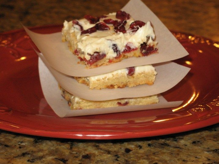 Starbucks style cranberry bars #Starbucks #recipe #cookies