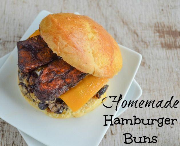 Homemade Hamburger Buns/Sandwich Rolls   Favorite Recipes   Pinterest