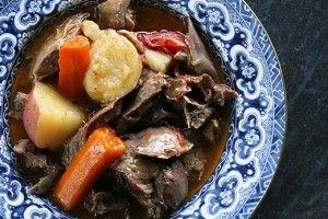Herb Marinated Braised Lamb Shanks | Recipe