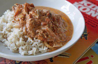 Indian Butter Chicken in the crock pot                          Better