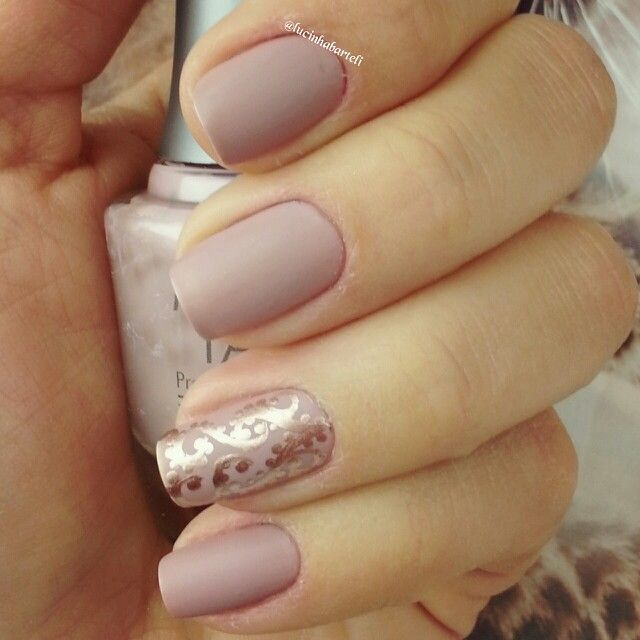 Love the ring finger design!  *BEAUTYHair.Makeup.Nails  Pinterest