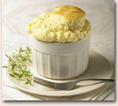 Goat Cheese and Herb Souffles   Cheese (Cheese Balls, grilled cheese ...