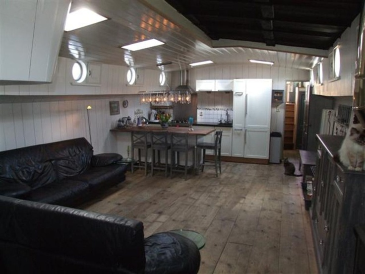 Houseboat Interior Houseboat Living Pinterest