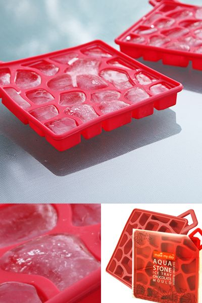 AQUASTONE SILICONE MOULD Perfect for ice or chocolate - Style Home