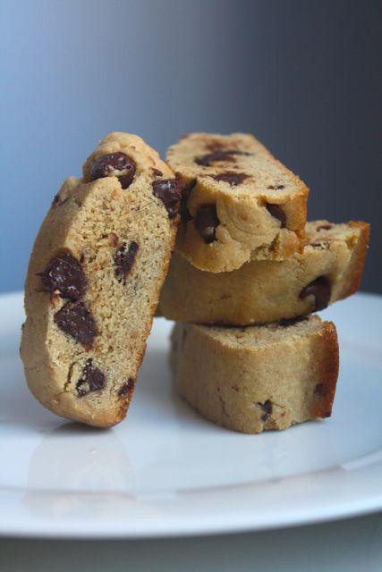 Chocolate Peanut Butter Biscotti