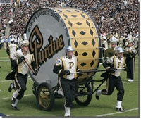 "Why yes, we did have the ""world's largest drum."" #random"