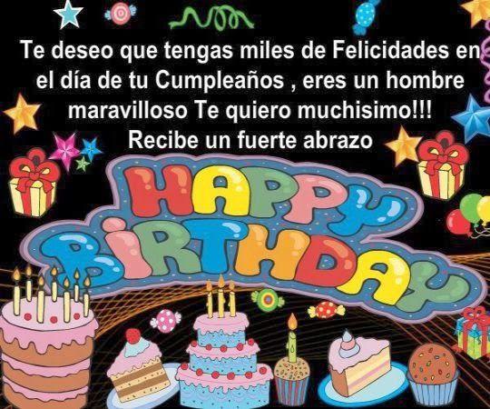 Felicitaciones de cumpleaños para amigos FRASES DE CUMPLEA u00d1OS Pin u2026