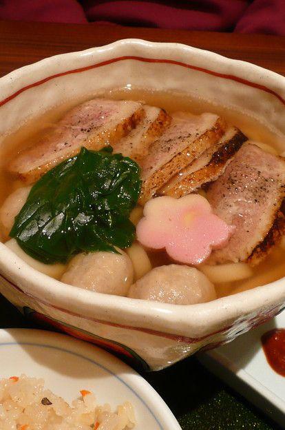 Crispy Duck With Udon Noodles Recipe — Dishmaps