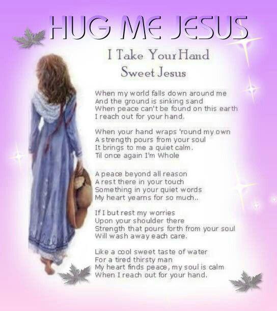 Hug Me Jesus   God Is ...