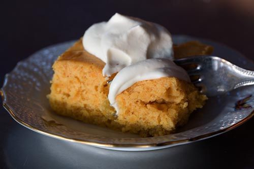 Pumpkin Cake with Whiskey Whipped Cream via The Pioneer Woman