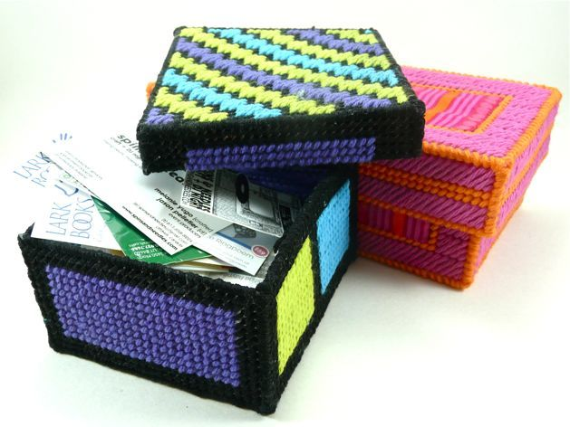 Acrylic Box Tutorial : Your own crafty storage boxes