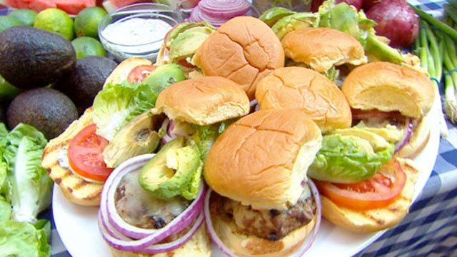 glazed burgers with ginger glaze and thai basil mayo recipes saigon ...