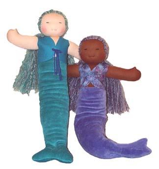 Mermaid Waldorf doll making kit