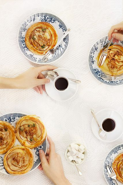 Apple Tarts with Caramel Sauce | Dessert: Pies, Tarts & Cobblers. Pu ...
