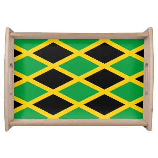jamaican american flag