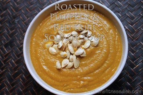 Roasted Pumpkin and Red Kuri Soup | Recipes that Work | Pinterest